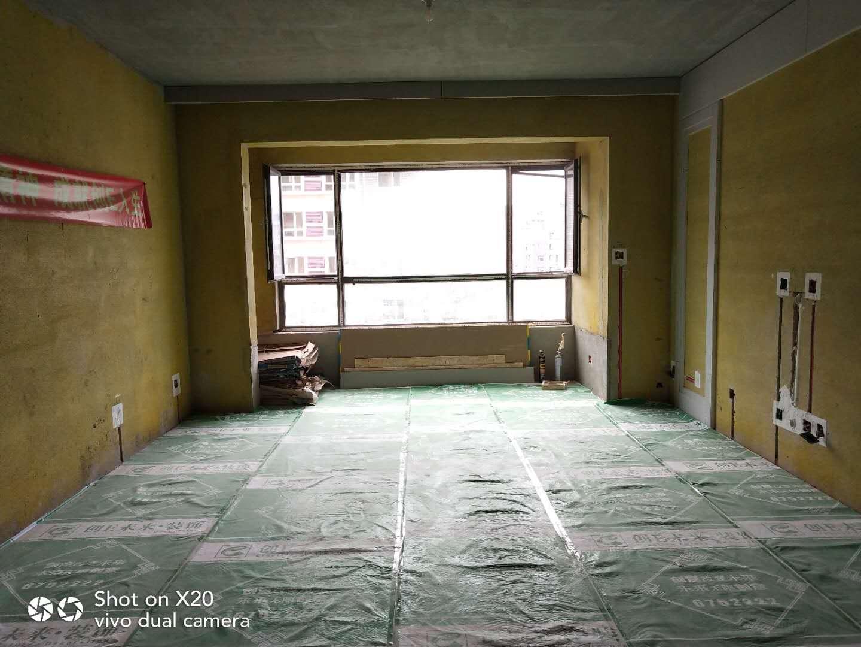 盤錦潤城苑沁園小區在施工地