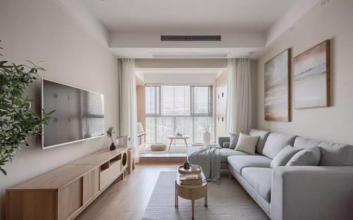 盘锦装修中简约风小户型二居室装修,温馨浪漫而又舒适的小窝