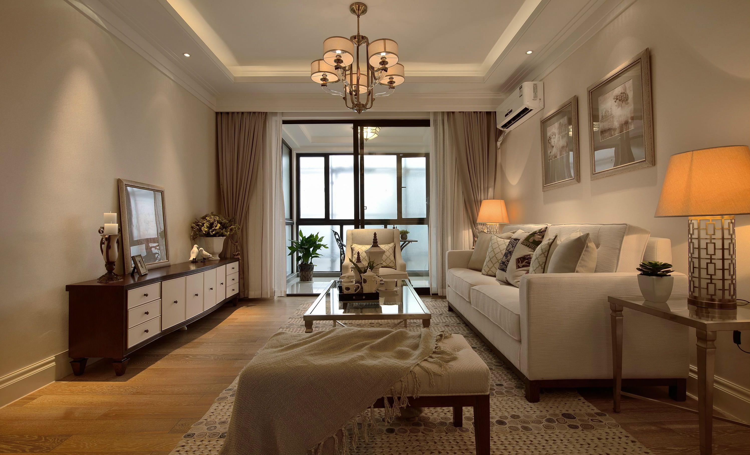 天丽家园美式复古风格样板