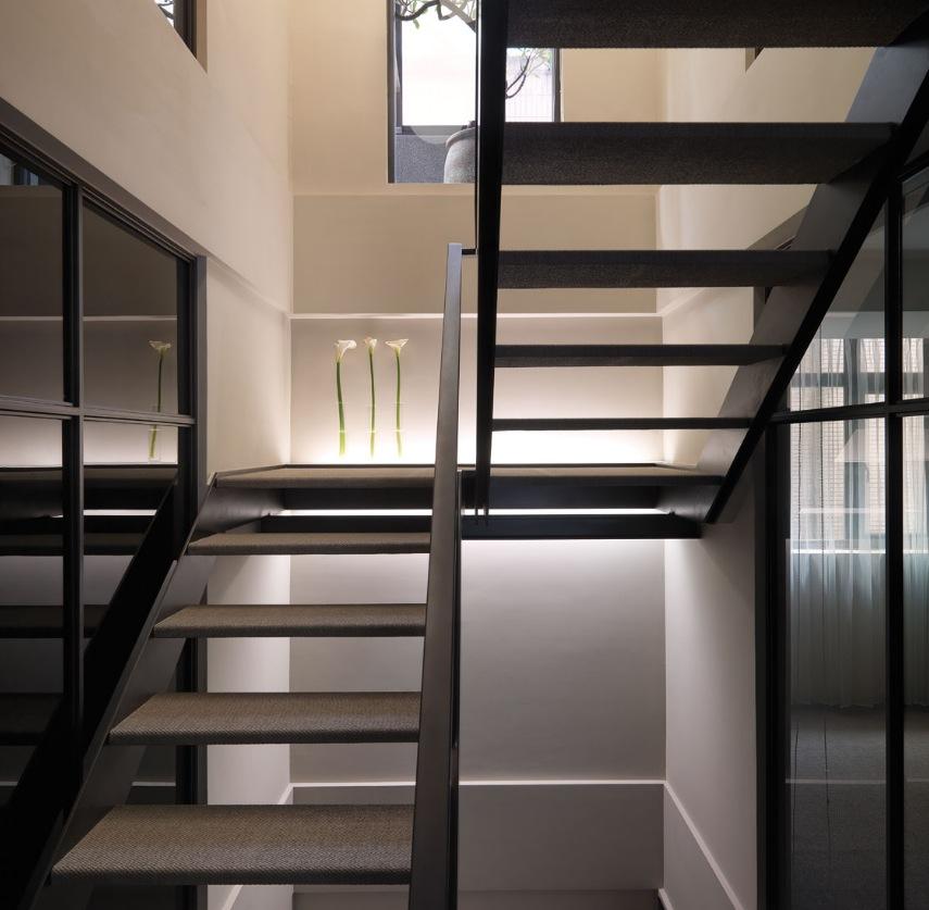 巴塞羅那復式現代簡約裝修樣板間4