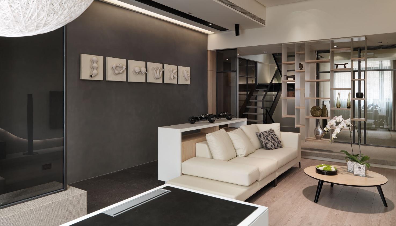 巴塞羅那復式現代簡約裝修樣板間2