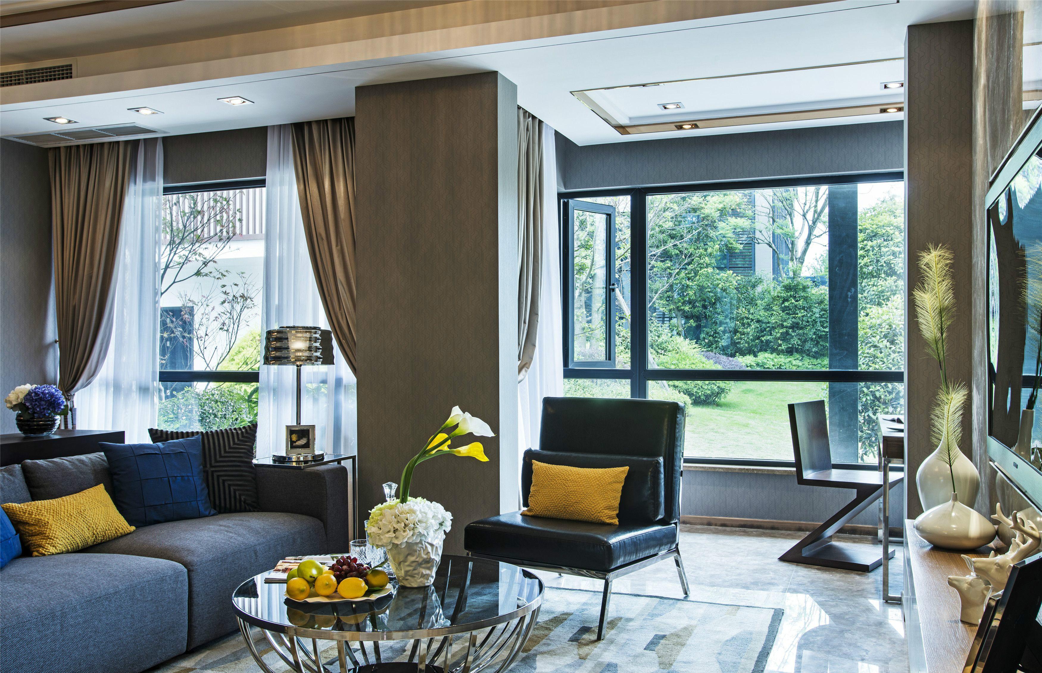 润城苑后现代风格样板间案例图